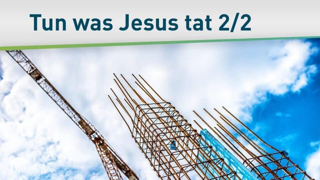 Evangelisation, Lehre und Heilung 2/2 6