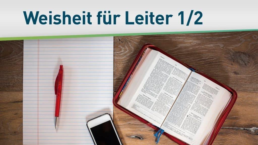 Göttliche Weisheit für Leiter 1/2 49