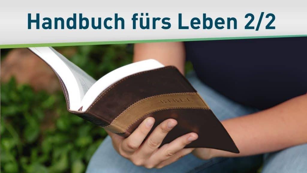 Gottes Handbuch für dein Leben 2/2 41