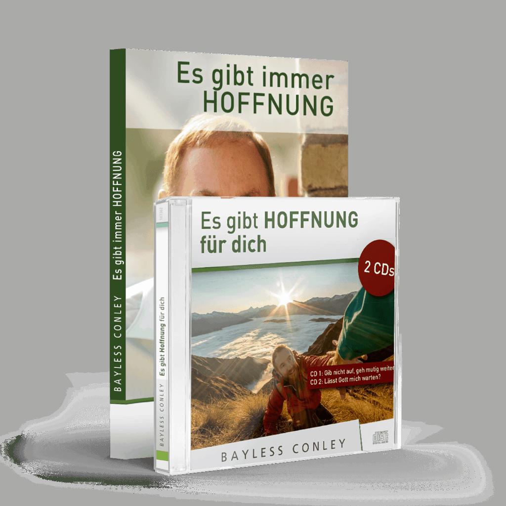 """Set """"Für dich gibt es neue Hoffnung"""" – Minibuch + 2 CDs/2 DVDs 1"""