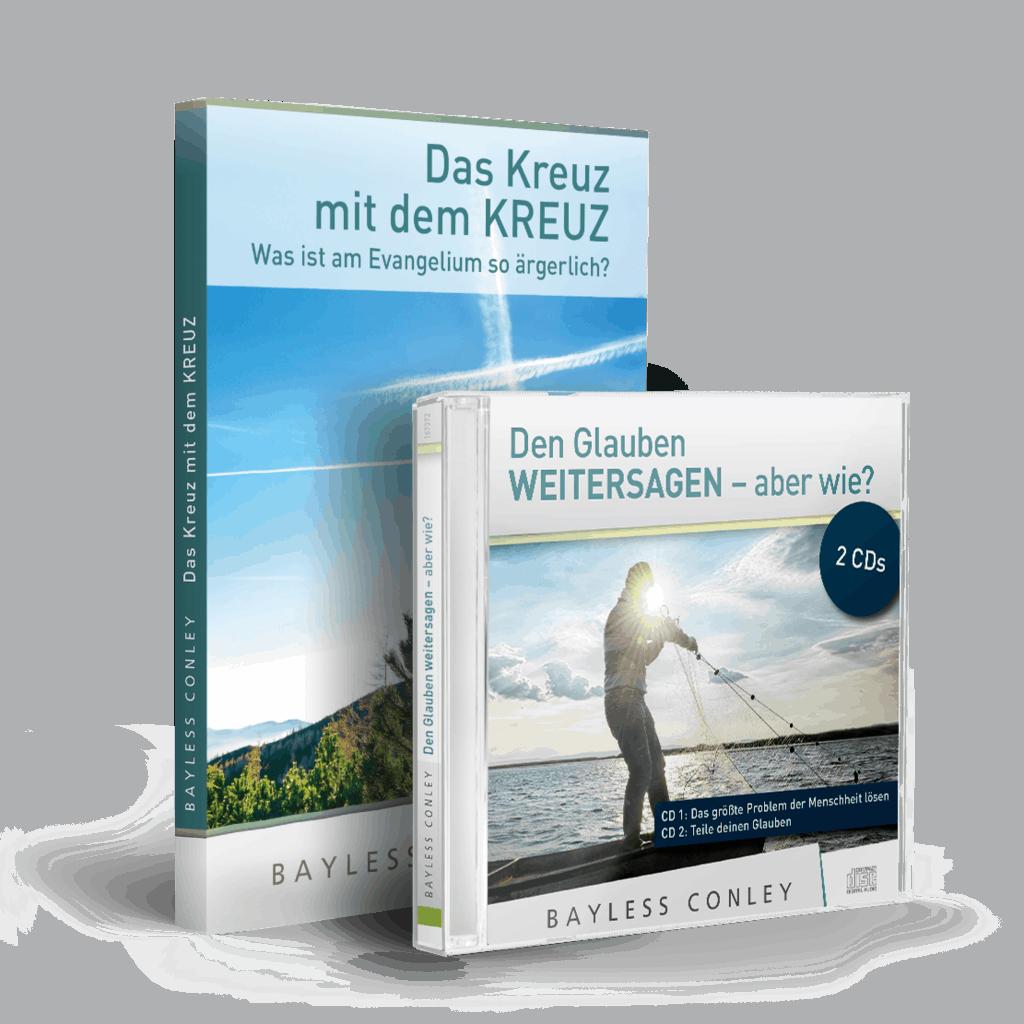 """Set """"Weitersagen"""" – Minibuch + 2 CDs/2 DVDs 1"""