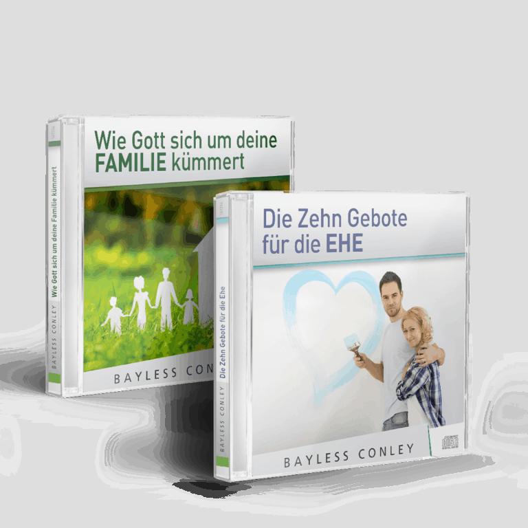 2-CD/DVD-Set: Ehe & Familie stärken - bayless-conley.ch